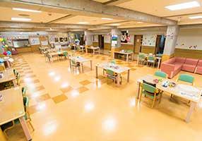 1階2階入所棟食堂